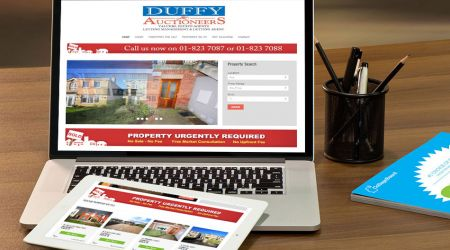 Duffy Auctioneers Website